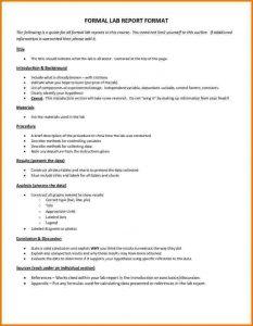 chemistry lab report template formal lab report format high school debfefffbbfcbb