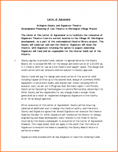 child support agreement form interior design letter of agreement template sample letter of agreement interior design