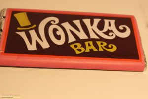 choc bar wrappers willy wonka and the chocolate factory a replica wonka bar