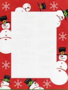 christmas borders for letters christmas letter borders