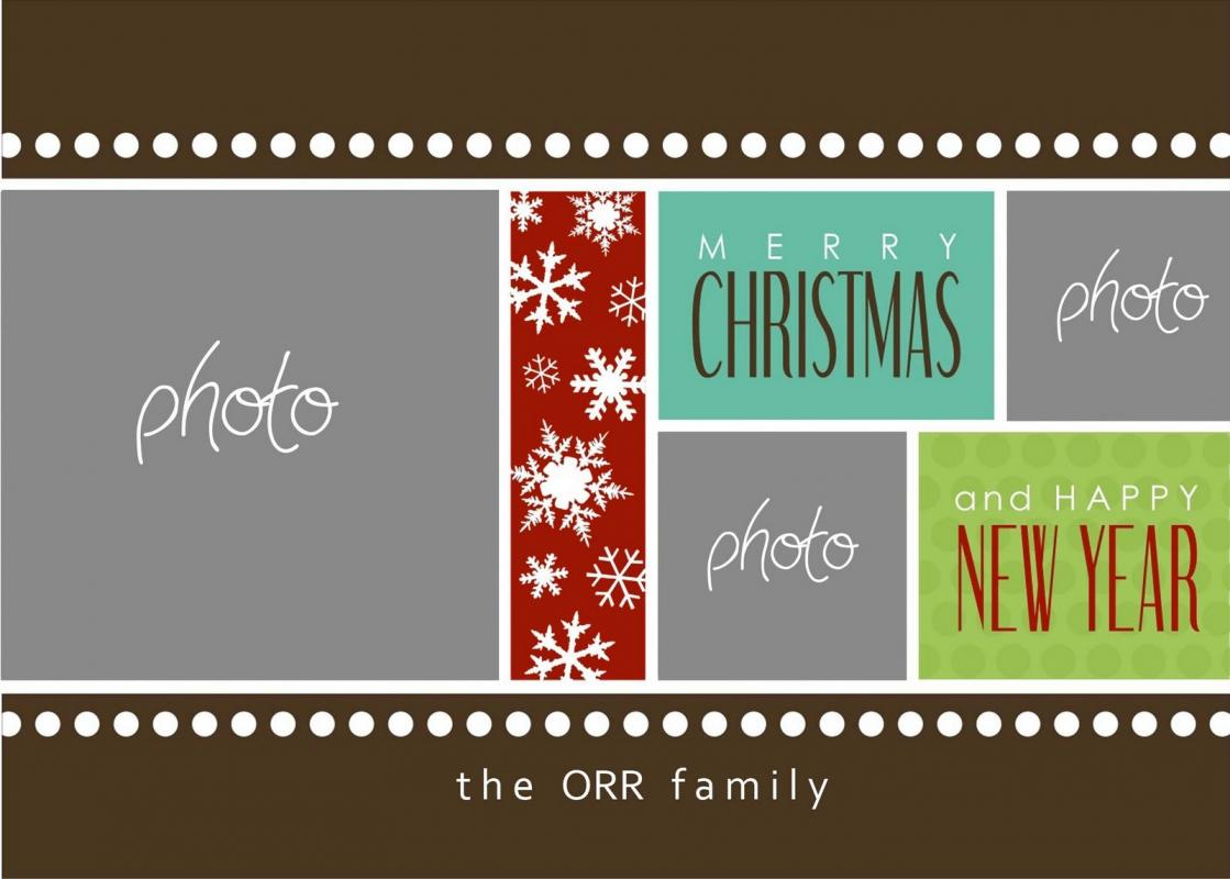 christmas card templates for photoshop