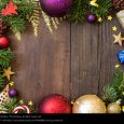 christmas email template christmas composition with decorations blue photocase stock photo large
