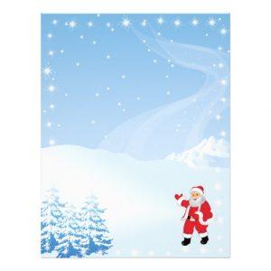 christmas letter paper christmas letter paper santa waving letterhead rfcebbeefeedbaa vgg byvr