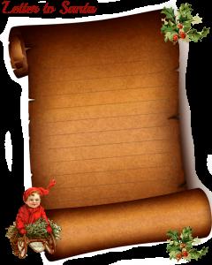 christmas letter paper letter to santa by glenda of glendas world