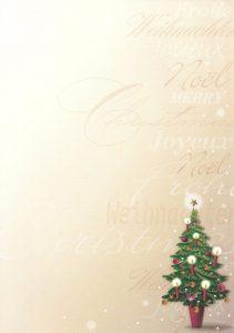christmas letter paper scannen