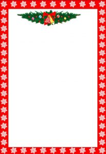 christmas letter templates christmas letter head template download