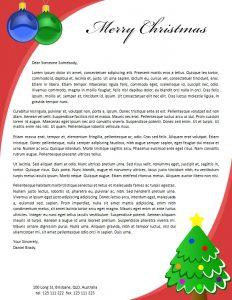christmas letter templates christmas letterhead