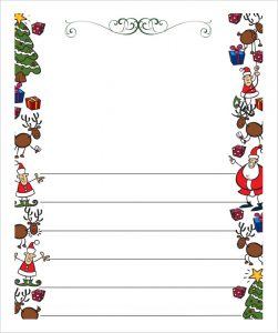 christmas letter templates free download blank letter to santa paper pdf