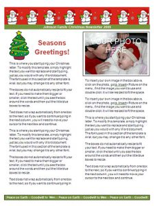christmas letter templates printable christmas letter templates