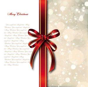 christmas newsletter templates bow merry christmas cards vector vector background vector on merry christmas card psd