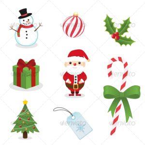 christmas newsletter templates seasonal icon image