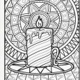 christmas tree printables christmas printable coloring page candle