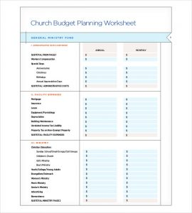 church budget template catholic church budget planning template