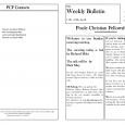 church bulletin templates church bulletin templates ihael97d