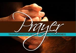 church revival flyer prayer capture