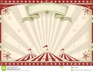 circus poster template horizontal vintage circus poster your advertising perfect size screen