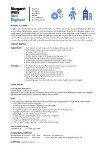 civil engineer resume pic civil engineering cv