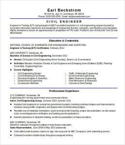 civil engineer resume sample resume civil engineer entry level template download