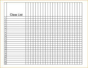 class roster template class roster template class roster template