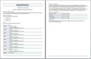 classroom management plan examples course syllabus template