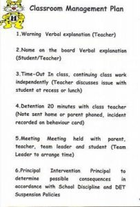 classroom management plan large