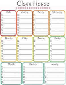 cleaning schedule template acadfebfafb cleaning schedule templates house cleaning schedules
