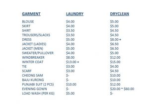 cleaning services price list template price list top p