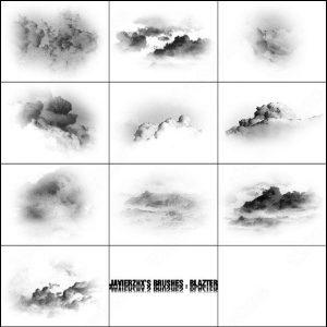 cloud photoshop brushes cloud brush