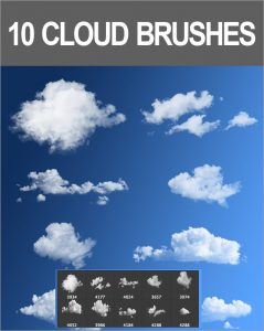 cloud photoshop brushes cloud brushes