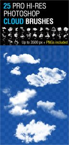 cloud photoshop brushes photoshop cloud brushes