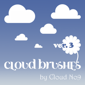 cloud photoshop brushes cloud brushes ver by cloud no