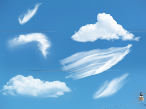 cloud photoshop brushes photoshop cloud brush pack by darkdissolution dng