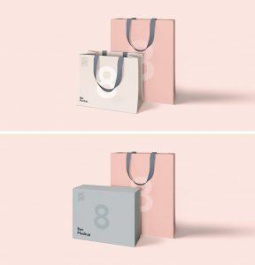 coffee bag mockup pink background bag mockup