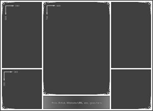 collage template photoshop photo collage template by neyjour dbu