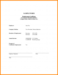 college acceptance letter sample certificate of employment with compensation