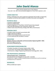 college application resume examples ebaeaccbdfddb resume for fresh graduate sample resume format