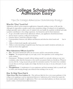 college essay format template college scholarship essay format