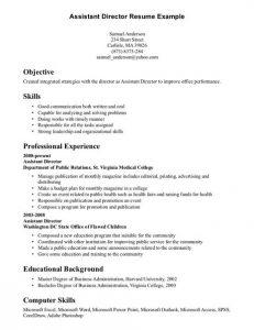 college resume sample computer skills on resume