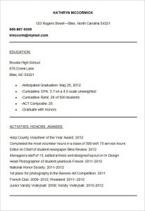 college resume samples college resume templates free samples examples formats pertaining to college application resume samples