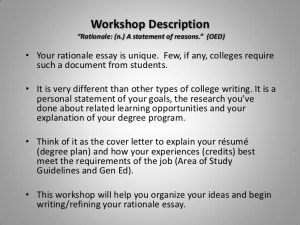 college student resume sample how to writetherationaleessay