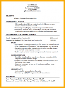 college student resume sample sample customer service resume resume sample sales customer service