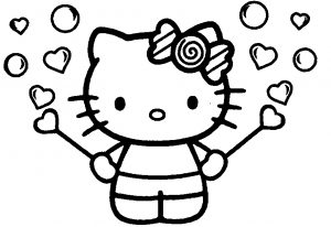 coloring pages of barbie coloring pages for girls hello kitty printable