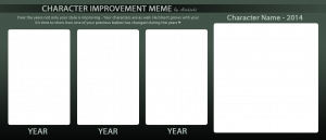 comment card template oc improvement meme blank form by aishishi dyf