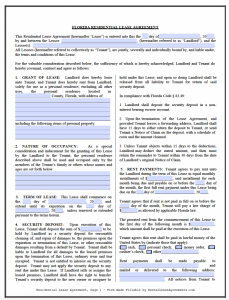 commercial lease agreement template word florida residential lease agreement template x