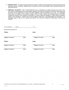commercial lease agreement template word residential lease agreement sample form l