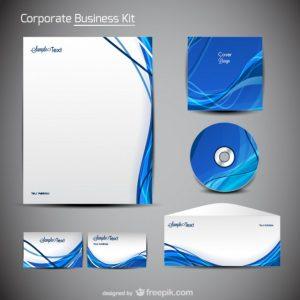 company letterhead templates trend merchandise packaging design