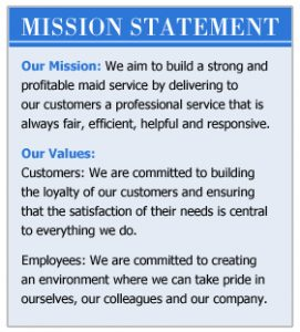company mission statement examples mission statement