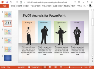competitor analysis templates free swot analysis presentation template