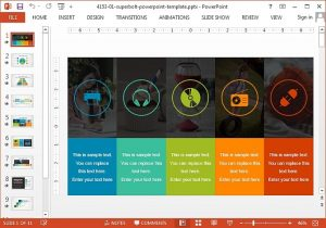 competitor analysis templates superbolt powerpoint template