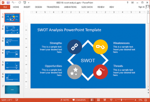 competitor analysis templates swot analysis for powerpoint presentations